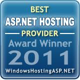 best asp.net hosting provider 2011