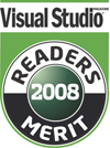 2008 Visual Studio Magazine award